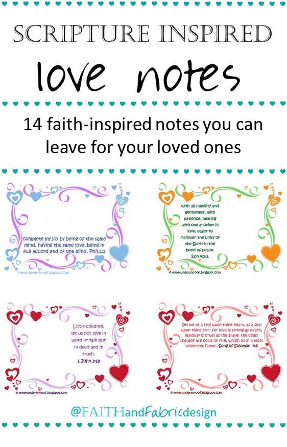 Scripture Love Notes