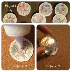 Faith and Fabric - Stations of the Cross Magnets Lent Activity for Kids Instructions