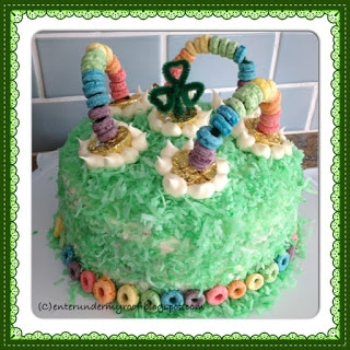 saint patrick's day cake cupcake recipe dessert green rainbow