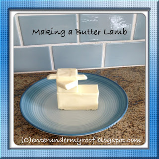 butter lamb, paschal lamb, easter, recipe, easter recipe, lamb