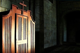 act of contrition, confession, confession roman catholic app, examination of conscience, penance,