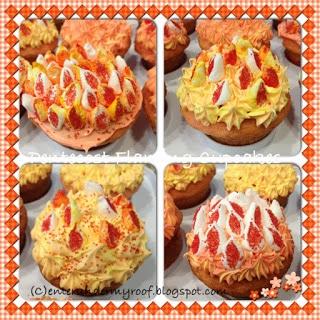 pentecost flaming cupcakes family kids activity recipe