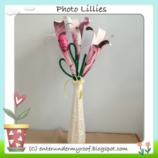 ACTIVITY: Photo Lilies for Mother's Day