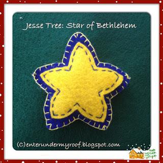 ACTIVITY: Jesse Tree Ornament – Three Maji & Star of Bethlehem