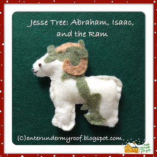 Jesse Tree: Abraham, Isaac, & the Ram