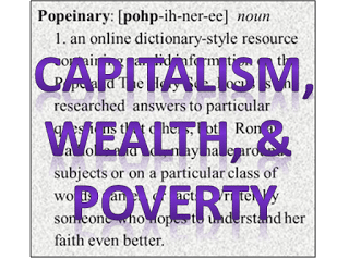 pope francis wealth poverty capitalism