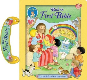 book club, book review, children's book, baby's first bible