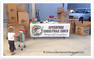 Operation Christmas Child: Boxes are Dropped Off!