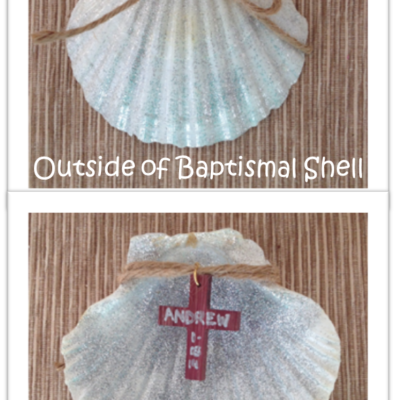ACTIVITY: Baptismal Shell Keepsake