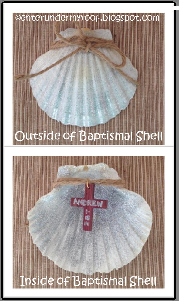 ACTIVITY: Baptismal Shell Keepsake