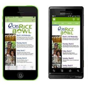 ACTIVITY: Catholic Relief Services Rice Bowl App