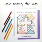 Faith and Fabric - Printable Lenten Prayer Stained Glass Main