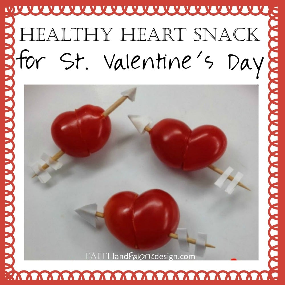 Heart Healthy Snacks for Valentines Day