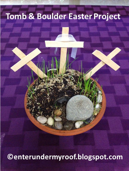 ACTIVITY: Empty Tomb and Mount Calvary Garden for Easter / Triduum