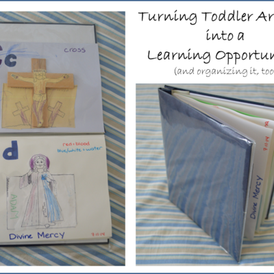 Turning Artwork into an ABC Learning Book!