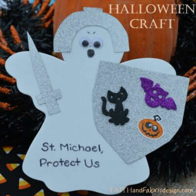 Saint Michael: Defender of Evil and…Halloween!