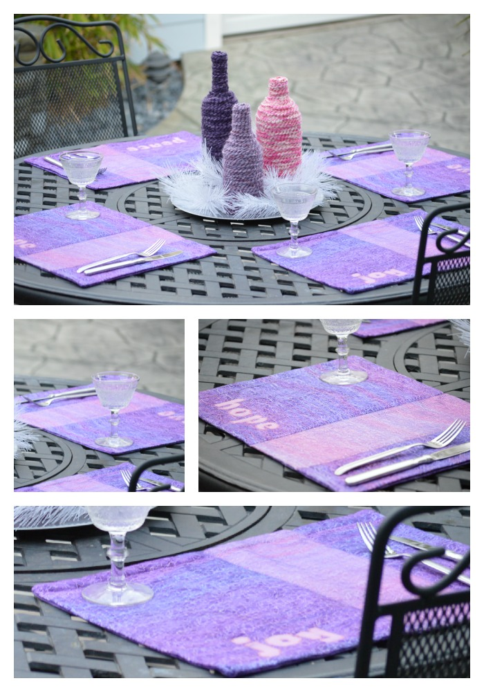 Advent Quilt Pattern Table Runner Placemats