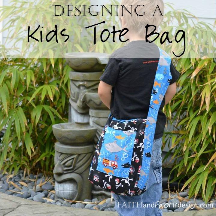 Sew Design a Kids Tote Messenger Bag