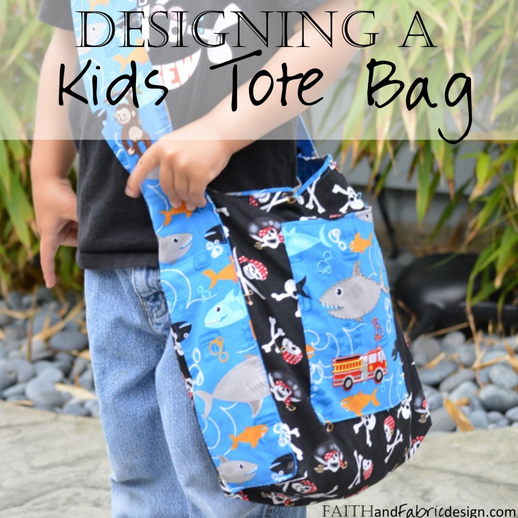 Sew Design Kids Tote Messenger Bag