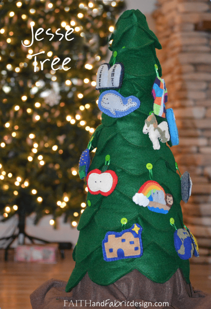 Creating a Jesse Tree for Advent