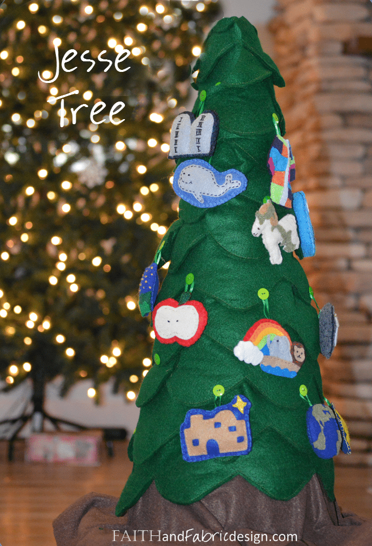 Jesse Tree For Advent Faith And Fabric