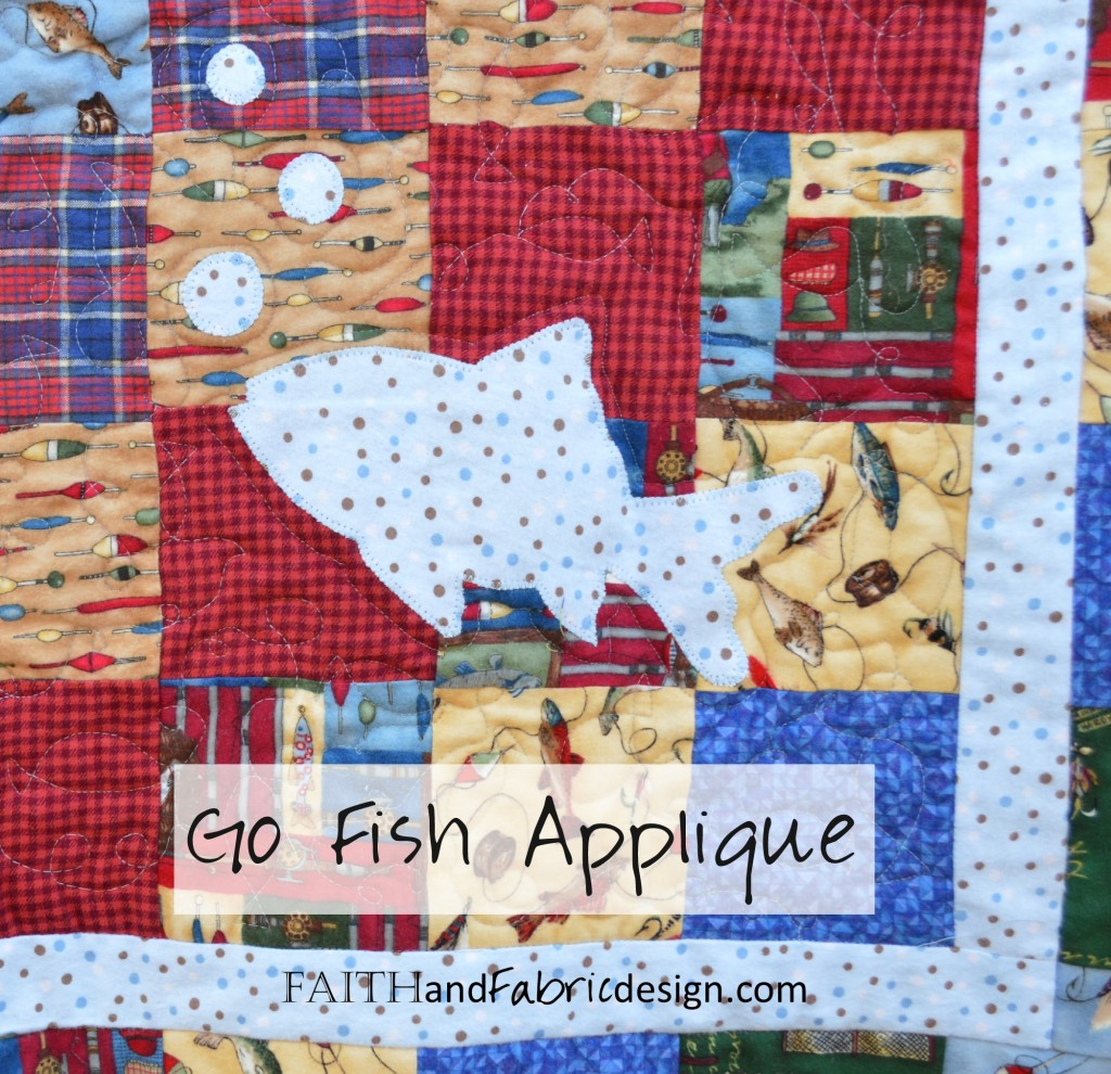 Applique Fish Quilt