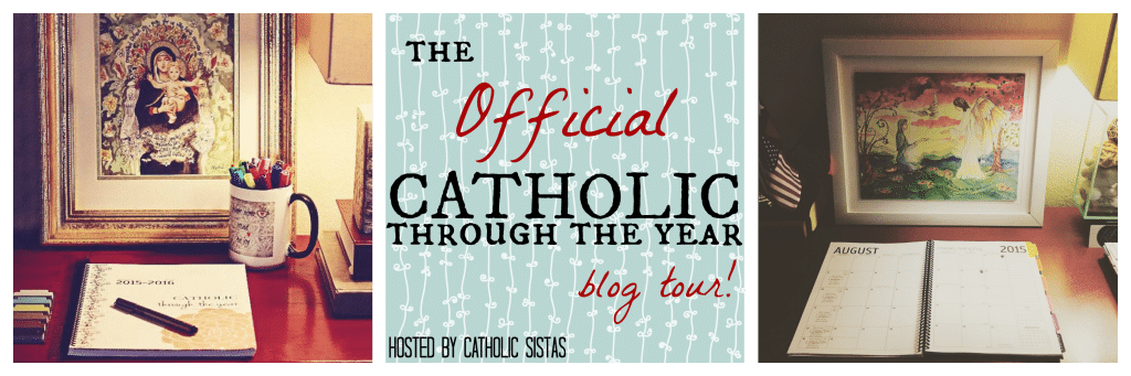Catholic Through The Year Planner