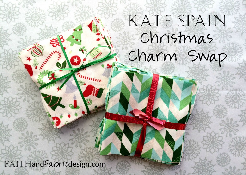 Kate Spain Christmas Charm Quilt Swap Jingle
