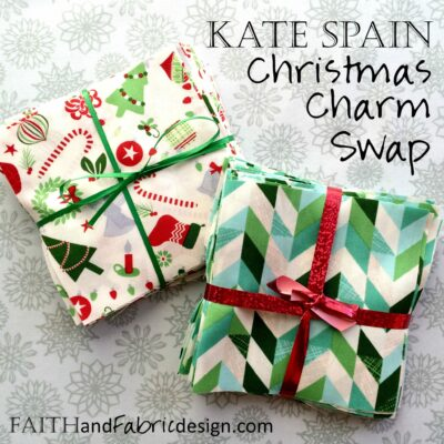 Moda Fabric Kate Spain Charm Quilt Swap – Christmas in July!
