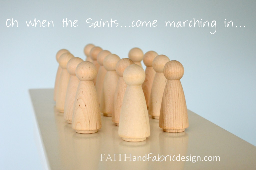 Catholic Saint Peg Dolls
