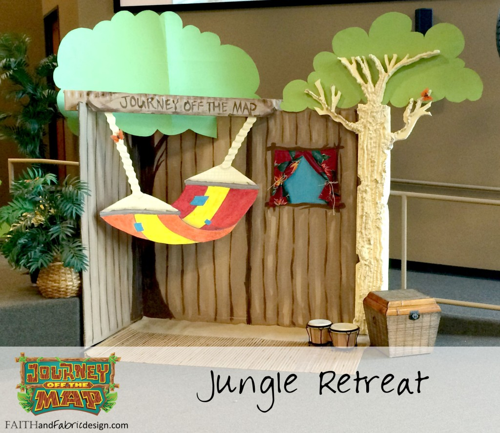 VBS Journey Off the Map Cabana Decorate