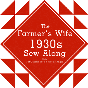 QAL: The Farmer's Wife 1930's Sampler Quilt