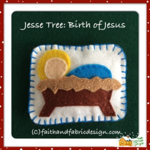 Jesse Tree Birth of Christ Jesus