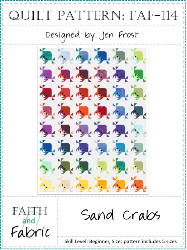 Sand Crab Quilt Pattern
