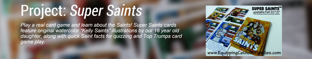 Super Saints Card Project