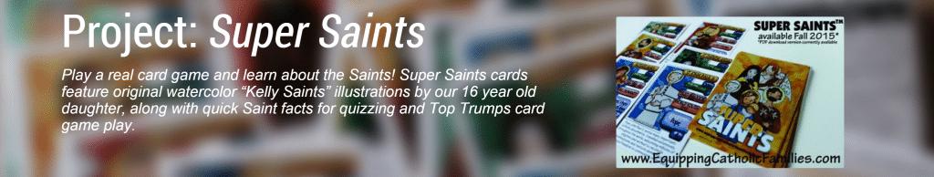 Super Saints Card Project