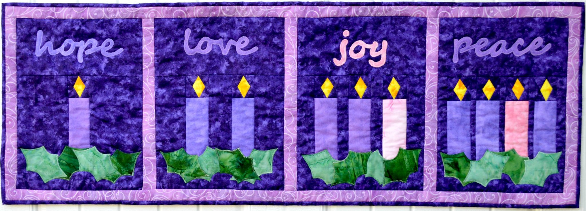 Faith and Fabric Advent Quilt Pattern