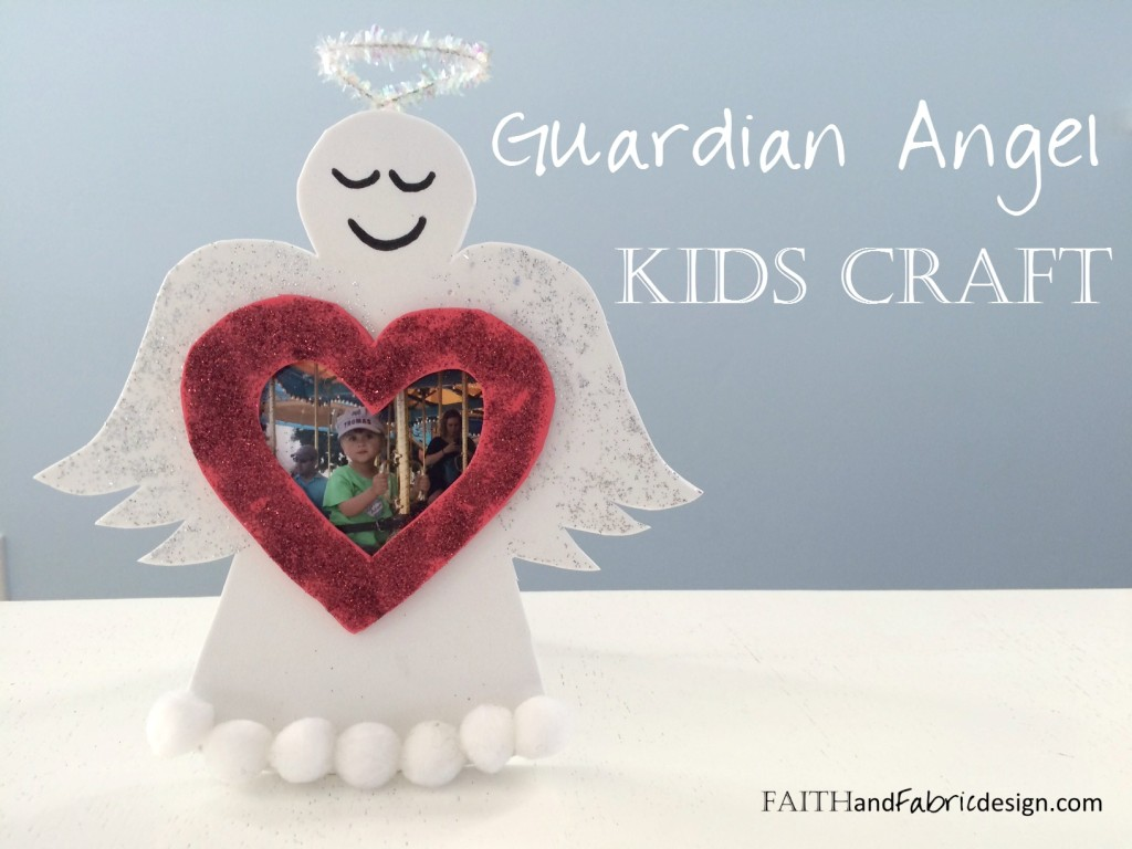 Guardian Angel Craft Kids