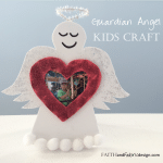 Guardian Angel Kids Craft 2