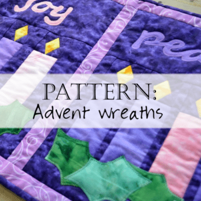 Pattern: Advent Quilt - Advent Wreaths