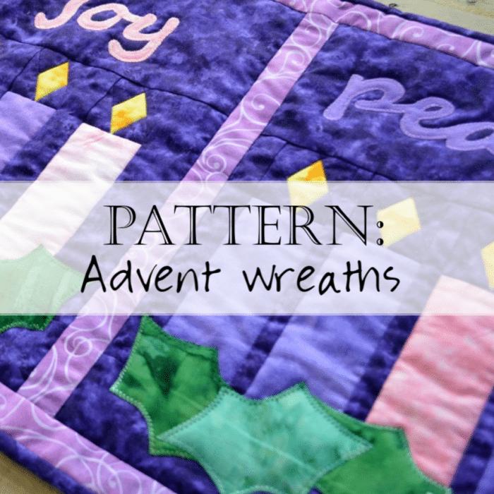 Pattern: Advent Quilt – Advent Wreaths