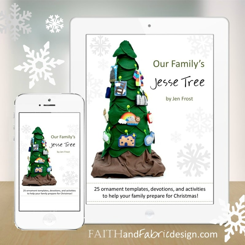 Jesse Tree Ornaments Patterns Book 1