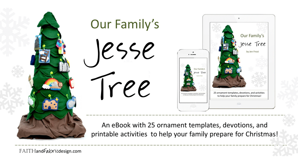 Jesse Tree Ornaments Patterns Book