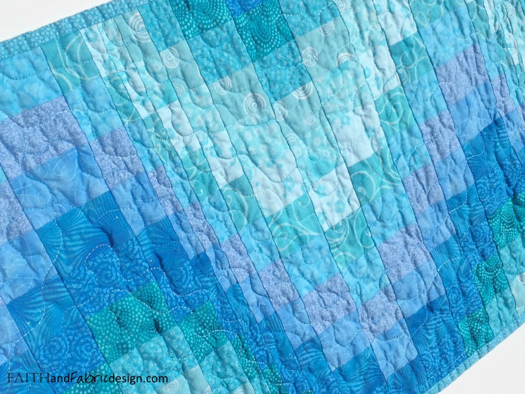 Faith and Fabric: Sea of Galilee Quilt