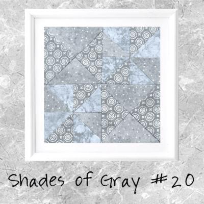 Shades of Gray: Farmer's Wife Block 20 Caroline
