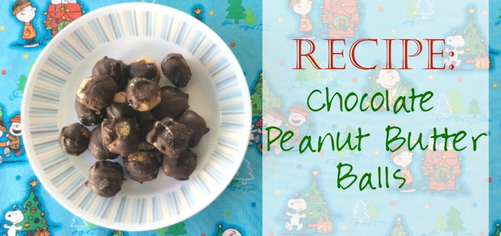 Faith and Fabric - Recipe for Christmas Cookies: Chocolate Peanut Butter Balls (No Bake!)