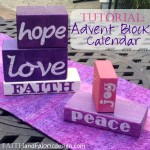 Faith and Fabric - Advent Blocks Craft Project 5