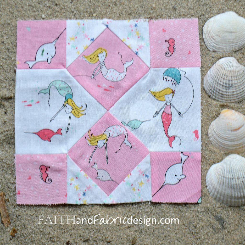 Under the Sea Quilt by Faith and Fabric