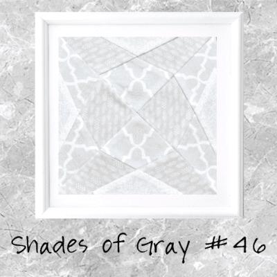 Shades of Gray: Farmer's Wife Block 46 Jewel