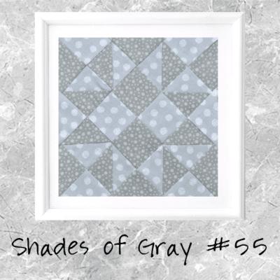 Shades of Gray: Farmer's Wife Block 55 Malvina